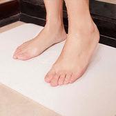 簡約硅藻土吸水地墊 厚款 60*39 大片 加大 腳墊 速乾 吸濕 抗菌 矽藻 除臭◄ 生活家精品 ►【A44】