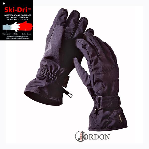 JORDON橋登 Ski-Dri 女防水刷毛保暖手套G010