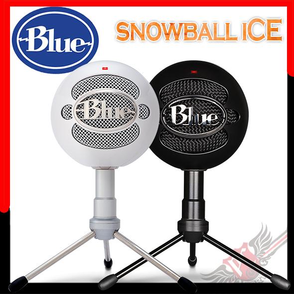 [ PC PARTY ] 美國 Blue Snowball Ice 小雪球 USB 麥克風 黑/白