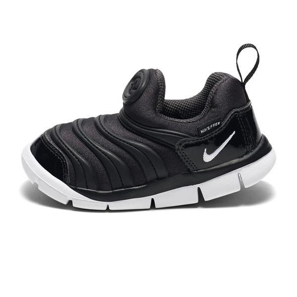 Nike Dynamo Free 男 女 孩 幼童鞋 黑 兒童 毛毛蟲鞋 運動鞋 學步鞋 343938013