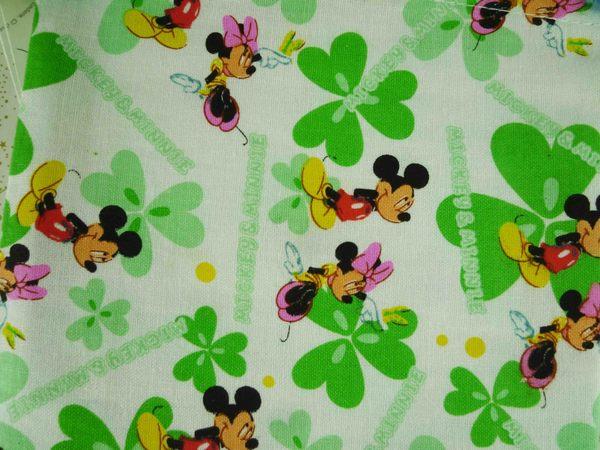 【震撼精品百貨】Micky Mouse_米奇/米妮~束口袋-綠米奇S