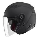 【東門城】SOL SO-7 素色(消光黑) 半罩式安全帽 內墨鏡片