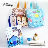 迪士尼手提便當包 小飛象/史迪奇/奇奇 飯盒包 便當袋 手提袋 單肩包