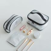 果凍包 手提包 化妝包 收納包 透明袋 洗漱包 防水包 大容量 透明化妝包(C款)【Z115】生活家精品