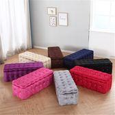歐式實木布藝儲物收納凳簡約創意沙發試換鞋凳服裝鞋店試衣凳腳凳【快速出貨】
