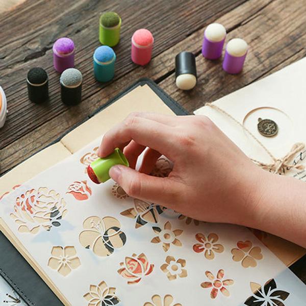 【BlueCat】兒童DIY印章海綿指套 印章套 印章配件