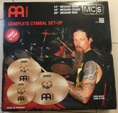 【金聲樂器】德國 MEINL MCS 爵士鼓 套裝 銅鈸組 德國製造 加贈18吋CRASH