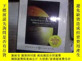 二手書博民逛書店ACCOUNTIONG罕見FOR DECISION MAKING AND CONTROL SIXTH EDITIO