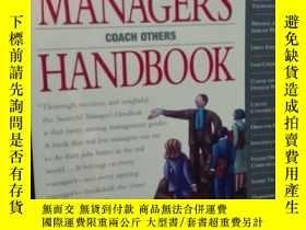 二手書博民逛書店Successful罕見Managers HandbookY18