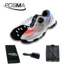 高爾夫球鞋 兒童旋鈕扣鞋帶 男童球鞋 春夏運動鞋 GSH105GBRED