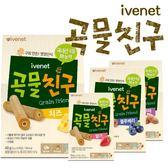 【二入特價$258】ivenet艾唯倪 - 韓國寶寶穀物夾心棒棒 (8支入)