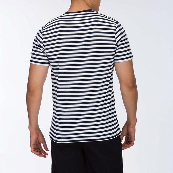 Hurley M DF HARVEY STRIPE TOP SS SAIL T恤-DRI-FIT