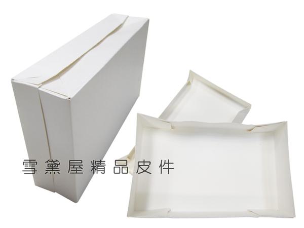 ~雪黛屋~COACH 長夾盒國際正版長型皮夾小型包小手拿包紙盒進口厚紙可摺疊收納展開為盒#4651