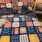 冬季雙層加厚毛毯被子保暖法蘭絨墊床珊瑚絨鋪床單人午睡小蓋毯子【小酒窩服飾】