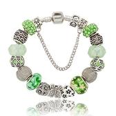串珠手環-時尚唯美熱銷百搭水晶飾品女配件73kc147【時尚巴黎】