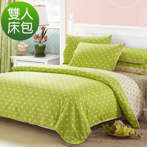 柔絲絨 雙人三件式床包組-檸檬幕斯/超取/RODERLY