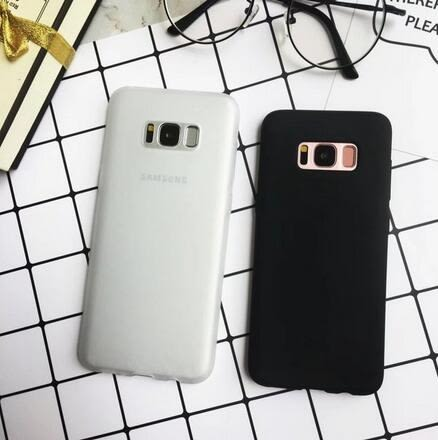 【SZ12】三星 S8/G9500手機殼 簡約磨砂軟膠手機殼 S8 Plus/S8+全包保護殼