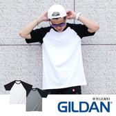 【YIJIAYI】✔(現貨) Gildan 台灣正版公司貨 純棉 素面 棒球T 短袖 T恤 短T【G廠】(76500)