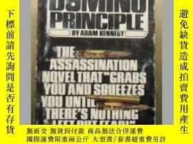 二手書博民逛書店The罕見domino principle 英文原版口袋書Y10