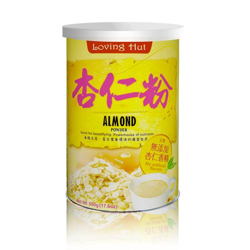 杏仁粉 (500g) 無香精添加 _愛家全素穀粉 即沖即飲 Almond Powder 純素沖泡飲品 健康早餐 營養補充