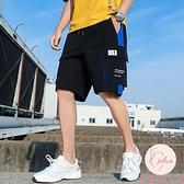 大碼加大工裝短褲男夏季寬鬆休閒中褲五分薄款5分褲外穿【大碼百分百】