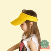 兒童帽子空頂帽遮陽帽寶寶夏季女童【福喜行】