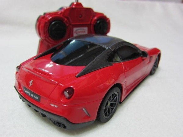 【KENTIM 玩具城】1:24全新原裝法拉利FERRARI 599 GTO原廠授權RASTAR遙控車