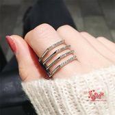 指環套裝 多層日韓網紅潮人學生極簡食指環冷淡風個性戒指女潮流時尚子 多款可選