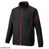 MIZUNO 男裝 外套 平織 套裝 保暖 內刷毛 口袋 黑 紅【運動世界】32ME963196