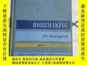 二手書博民逛書店HOMEMAKING罕見FOR TEEN-AGERS (BOOK 1)優惠價!Y255387 待查閱 同上