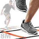 靈敏步伐梯8M敏捷梯8公尺跳格步梯速度梯繩梯.3米能量梯跳格梯跳格子.田徑跨欄跑步足球訓練梯子