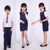 銀行員表演服幼兒園銀行職業扮演演出服裝男女孩工作制服舞蹈 时尚潮流
