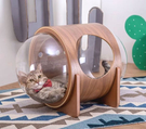 LOXIN【BK1261】Myzoo 太空計畫-ALPHA 胡桃木貓屋 貓籠 貓咪窩 寵物用品 動物緣