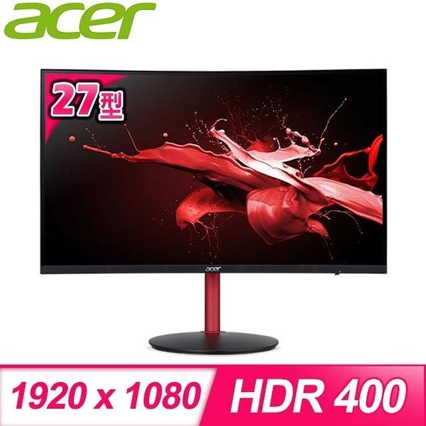 【南紡購物中心】ACER 宏碁 Nitro XZ272 P 27型 165Hz 曲面電競螢幕