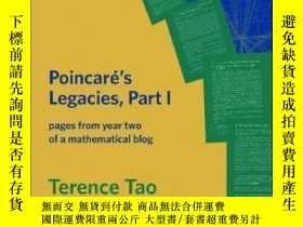 二手書博民逛書店Poincare s罕見Legacies, Part I-龐加萊的遺產,第一部分Y436638 Terence