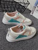 帆布鞋(休閒鞋) ins超火港風板鞋女女