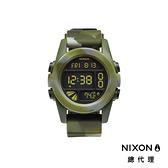 【官方旗艦店】NIXON UNIT 運動玩家電子錶 綠迷彩 潮人裝備 潮人態度 禮物首選