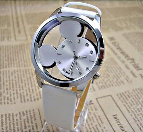 韓版精緻米奇概念造型鑲鑽手錶   情人節禮物【Vogues唯格思】C036