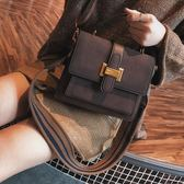 包包女新款潮百搭韓版冬季女包小方包時尚大氣簡約寬帶斜背包 CY潮流站