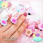寶寶兒童壓克力髮飾組-每組含-天鵝髮束 花朵髮束 壓夾 戒指(P12003)★水娃娃時尚童裝★