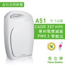 專利電漿滅菌【克立淨】A51 空氣清淨機...