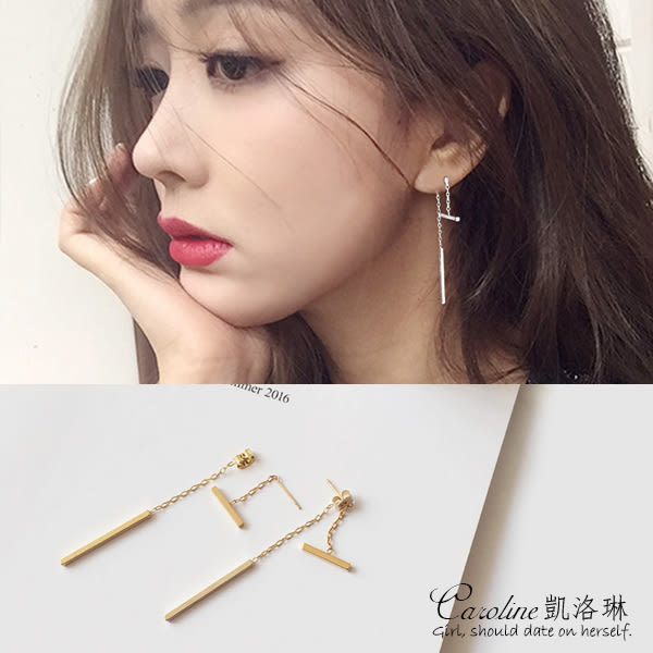 優雅浪漫風格時尚流行耳環