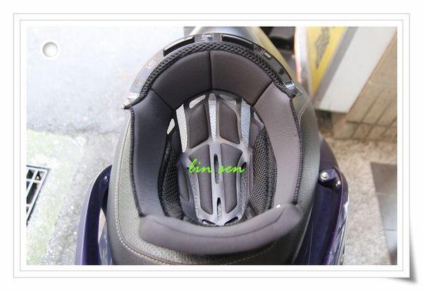 M2R安全帽,F5/XR5專用頂襯