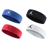 NIKE Jordan Jumpman 單色頭帶 (飛人喬登 籃球 NBA 一條入 免運 ≡排汗專家≡