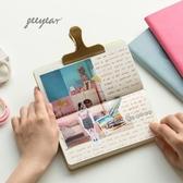 geeyear旅行方格本 簡約網格記事本 可愛學生日記本 小清新迷你筆記本隨身便攜小本子