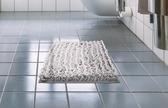 雪尼爾地墊門墊腳墊家用進門臥室衛生間浴室防滑墊門口吸水地毯灰