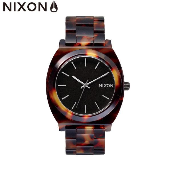 NIXON 手錶 原廠總代理 A327-646 TIME TELLER ACETATE 潮流時尚錶帶 男女 運動 生日 情人節禮物