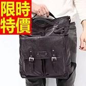 後背包-素雅日韓有型皮革情侶款-雙肩包-2款59ab50【巴黎精品】