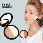 韓國 3CE(3CONCEPT EYES) MAGIC立體妝感雙色修容粉餅11g【庫奇小舖】
