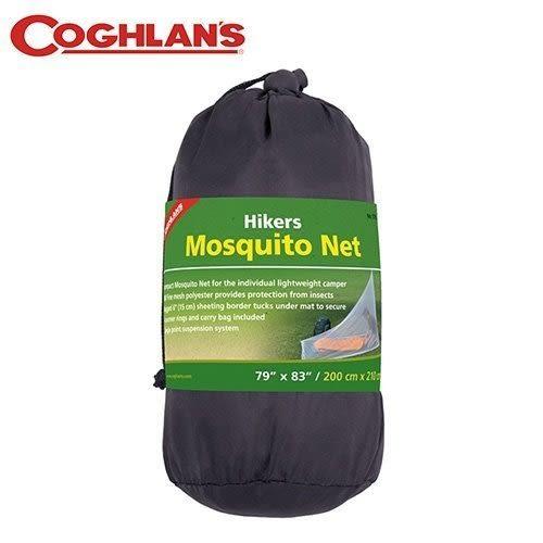 丹大戶外【Coghlans】加拿大 HIKERS MOSQUITO NET 登山健行個人蚊帳 9775